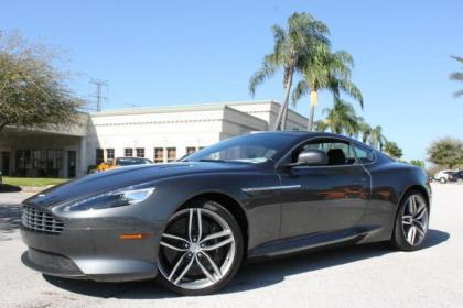 2014 ASTON MARTIN DB9 BASE - GRAY ON BLACK