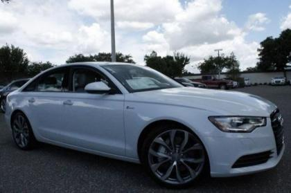 2014 AUDI A6 3.0T PREMIUM PLUS - WHITE ON GRAY 1