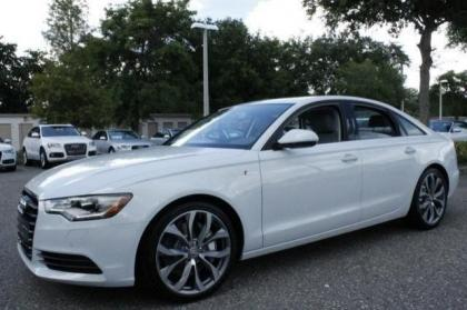 2014 AUDI A6 3.0T PREMIUM PLUS - WHITE ON GRAY 2