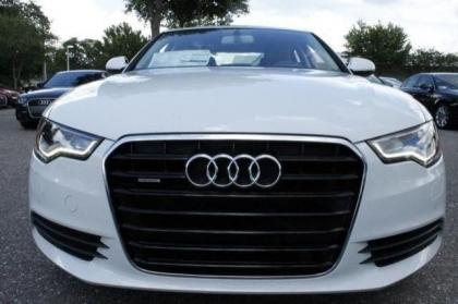 2014 AUDI A6 3.0T PREMIUM PLUS - WHITE ON GRAY 3