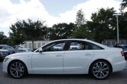 ... 2014 AUDI A6 3.0T PREMIUM PLUS   WHITE ON GRAY 4 ...