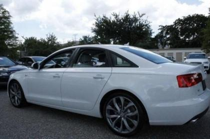 2014 AUDI A6 3.0T PREMIUM PLUS - WHITE ON GRAY 5