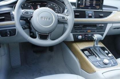 2014 AUDI A6 3.0T PREMIUM PLUS - WHITE ON GRAY 7