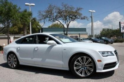2014 AUDI A7 3.0 TDI PRESTIGE - WHITE ON BLACK