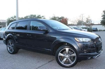 2014 AUDI Q7 3.0L TDI PRESTIGE - GRAY ON BLACK