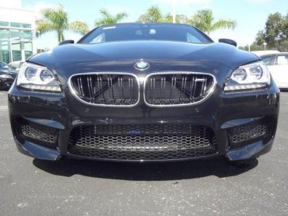 2014 BMW M6 BASE - BLACK ON BLACK 1