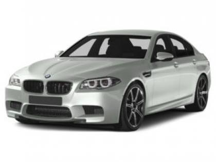 2014 BMW M5 BASE - WHITE ON BLACK 2