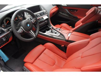2014 BMW M6 BASE - WHITE ON RED 3
