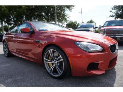 2014 BMW M6 BASE - RED ON RED 1