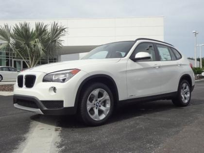 2014 BMW X1 28I - WHITE ON BEIGE