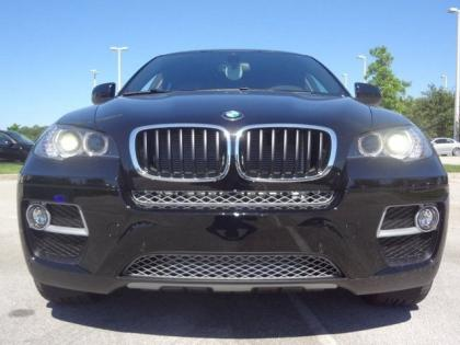 2014 BMW X6 XDRIVE35I - BLACK ON ORANGE 1