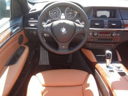 2014 BMW X6 XDRIVE35I - BLACK ON ORANGE 4