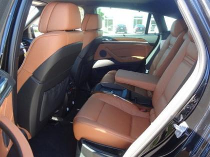 2014 BMW X6 XDRIVE35I - BLACK ON ORANGE 5