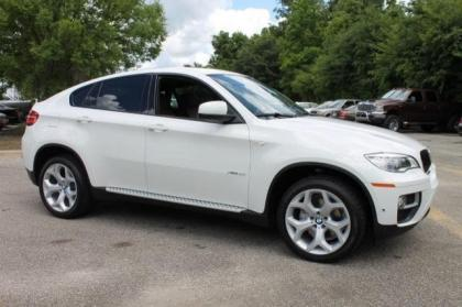2014 BMW X6 XDRIVE35I - WHITE ON ORANGE 1