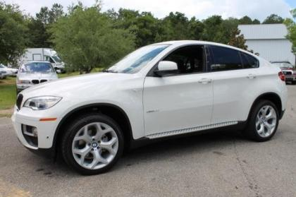 2014 BMW X6 XDRIVE35I - WHITE ON ORANGE 2
