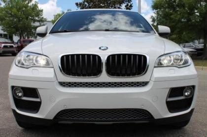 2014 BMW X6 XDRIVE35I - WHITE ON ORANGE 3
