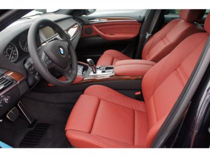 2014 BMW X6 XDRIVE35I - BLACK ON RED 3