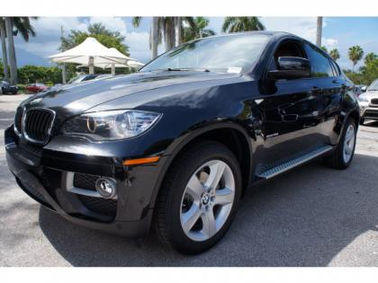 2014 BMW X6 XDRIVE35I - BLACK ON ORANGE 2
