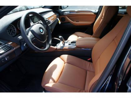 2014 BMW X6 XDRIVE35I - BLACK ON ORANGE 3