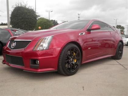 2014 CADILLAC CTS V - RED ON BLACK