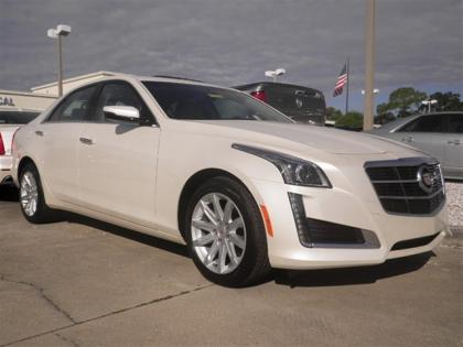 2014 CADILLAC CTS 2.0L TURBO I4 AWD - WHITE ON BLACK 4
