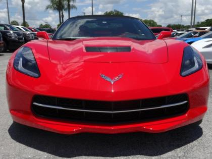 2014 CHEVROLET CORVETTE STINGRAY - RED ON RED 3