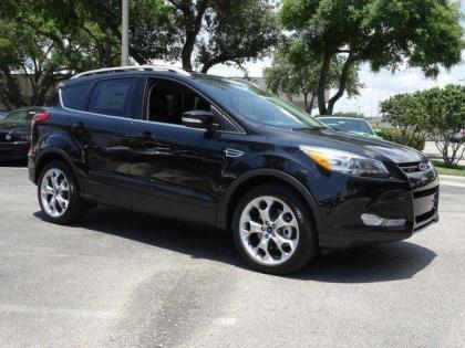 2014 FORD ESCAPE TITANIUM - BLACK ON BLACK