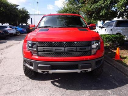 2014 FORD F150 SVT RAPTOR - RED ON BLACK