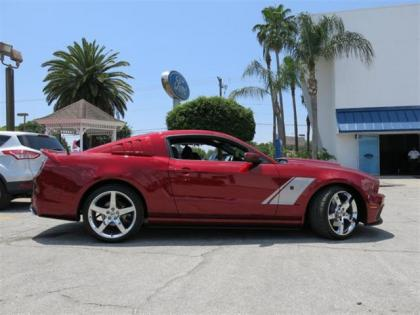 2014 FORD MUSTANG ROUSH STAGE 3 PERFORMANCE - RED ON BLACK