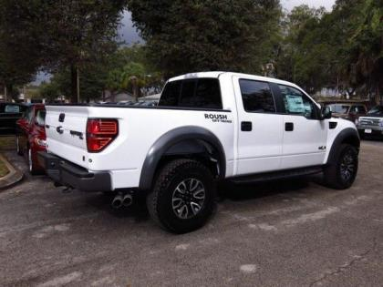 2014 ford f150 raptor svt white on black 2 - Black Ford F150 Raptor 2014
