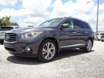 2014 INFINITI QX60 BASE - GRAY ON BEIGE