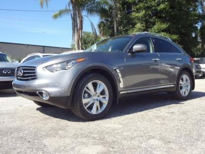 2014 INFINITI QX70 BASE - GRAY ON BLACK