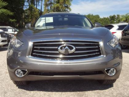 2014 INFINITI QX70 BASE - GRAY ON BLACK 3