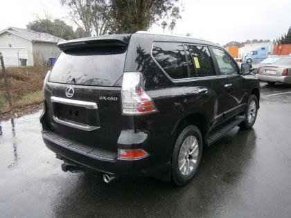 2014 LEXUS GX460 LUXURY - BLACK ON BLACK 5
