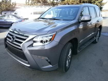 2014 LEXUS GX460 LUXURY - GRAY ON BLACK