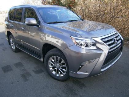 2014 LEXUS GX460 LUXURY - GRAY ON BLACK 2