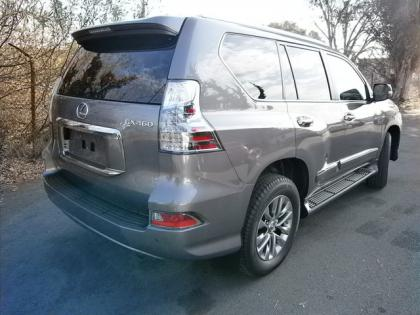 2014 LEXUS GX460 LUXURY - GRAY ON BLACK 3