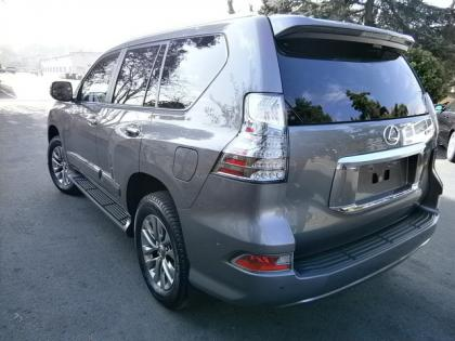 2014 LEXUS GX460 LUXURY - GRAY ON BLACK 4