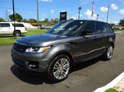 2014 LAND ROVER RANGE ROVER SPORT SUPERCHARGED - GRAY ON BLACK