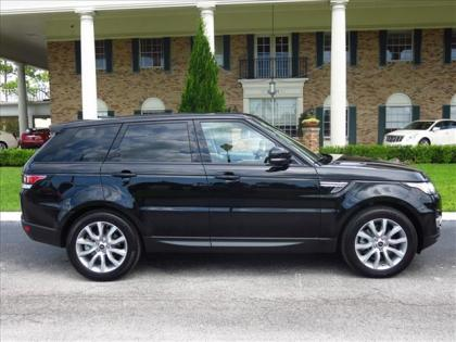2014 LAND ROVER RANGE ROVER SPORT SE - BLACK ON GRAY
