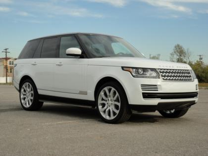 2014 LAND ROVER RANGE ROVER HSE - WHITE ON BLACK 1