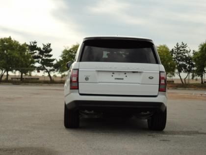 2014 LAND ROVER RANGE ROVER HSE - WHITE ON BLACK 5