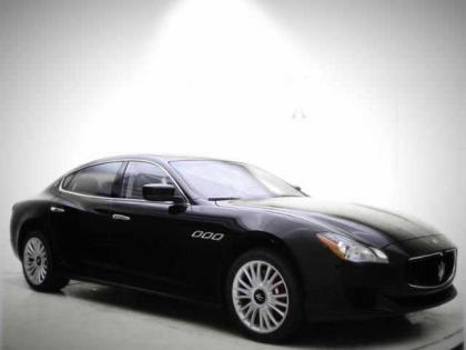 2014 MASERATI QUATTROPORTE S - BLACK ON GRAY