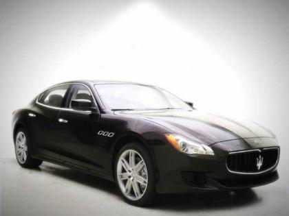 2014 MASERATI QUATTROPORTE S - BORDEAUX RED ON WHITE