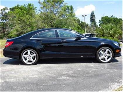 2014 MERCEDES BENZ CLS550 BASE - BLACK ON BLACK 2