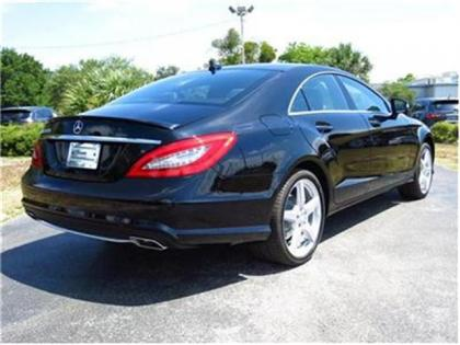 2014 MERCEDES BENZ CLS550 BASE - BLACK ON BLACK 3