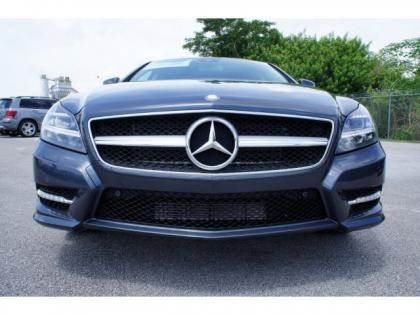 2014 MERCEDES BENZ CLS550 BASE - BLUE ON GRAY 2