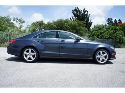 2014 MERCEDES BENZ CLS550 BASE - BLUE ON GRAY 4