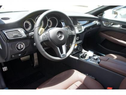 2014 MERCEDES BENZ CLS550 BASE - WHITE ON BROWN 5