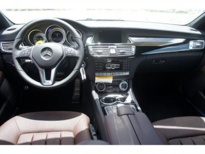 2014 MERCEDES BENZ CLS550 BASE - WHITE ON BROWN 6
